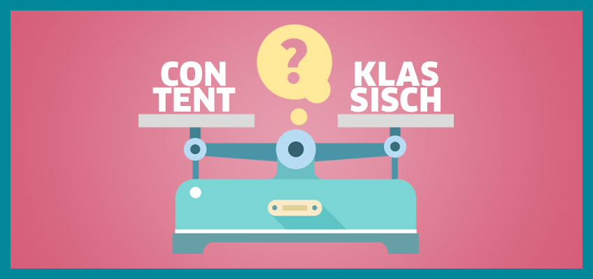 Klassisches Marketing, Content Marketing