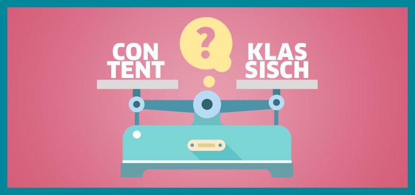 Klassisches Marketing, Content Marketing