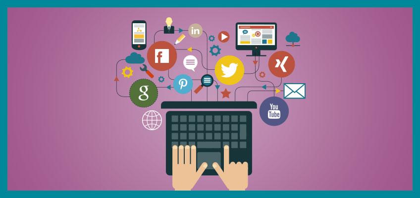 Social Media Kanäle B2B